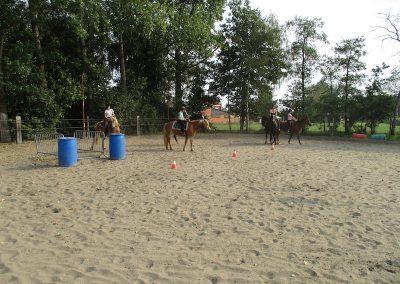 Gezinsvakantie bitloos paardrijden