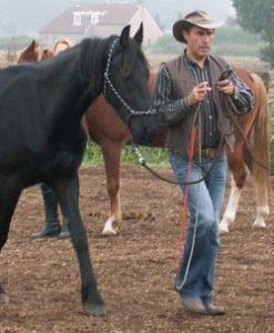 Ivo Bols met paard